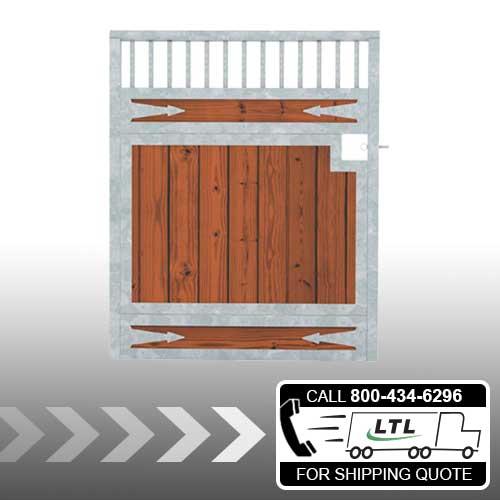 Tuscany Wood Stall Door - Arrows