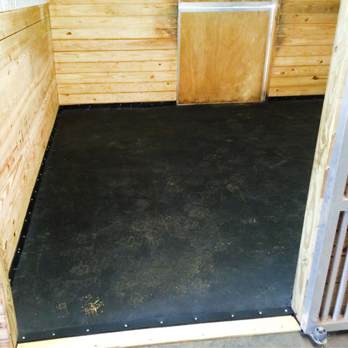 Horse Stalls Mats 10 X 12 Foot Thurobed Mattress System