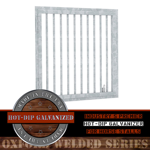 Oxford Welded Hinged Window Grill