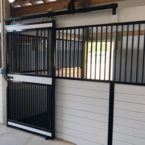 Oxford Horse Stall Front With Full Grill V Door Ramm