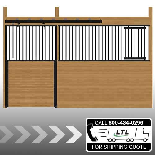 Cambridge Stall Front with Grill Top Door & Feed Door Kit