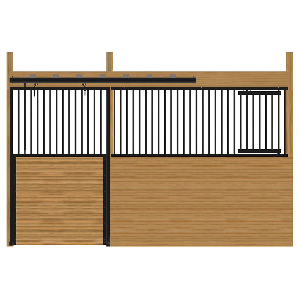 Cambridge Stall Front with Grill Top Door & Feed Door Kit