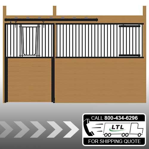 Cambridge Stall Front with V-Door & Feed Door Kit