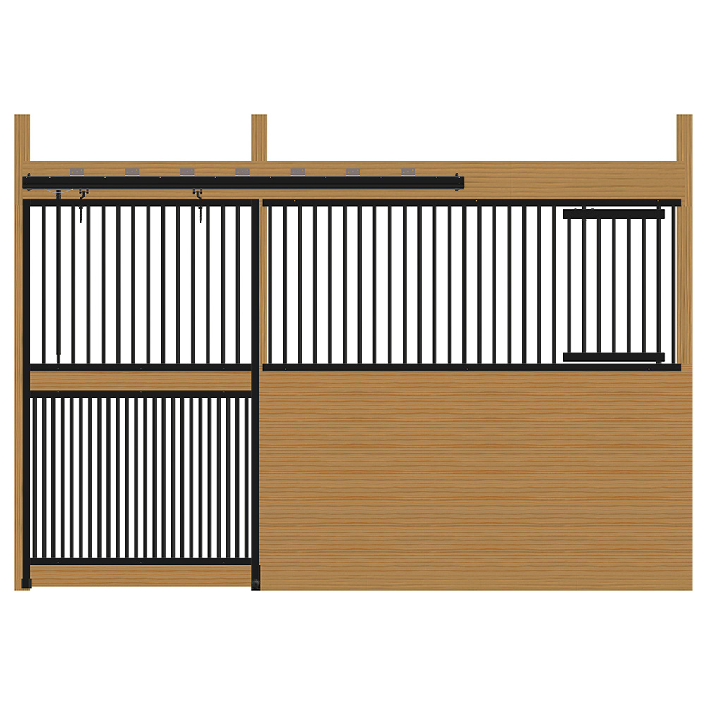Cambridge Stall Front with Full Grill Door & Feed Door Kit