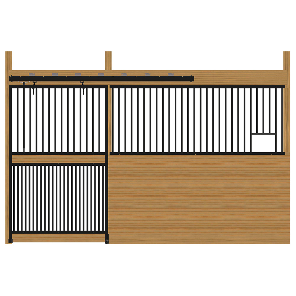 Cambridge Stall Front with Full Grill Door & Feed Opening Kit