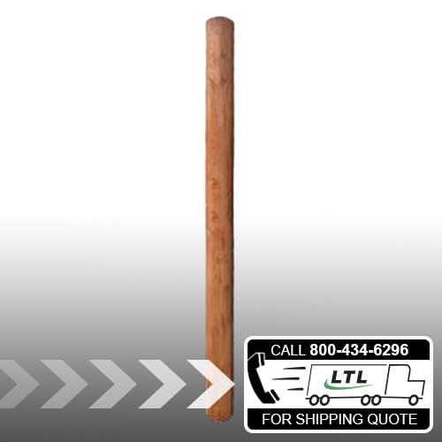 Pressure-Treated Wood Posts