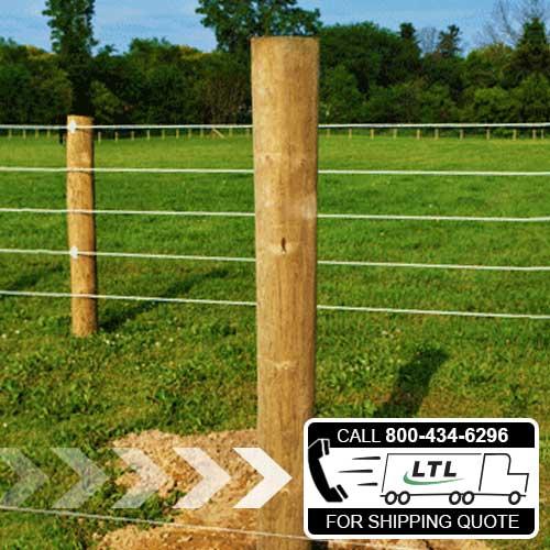 Pressure-Treated Wood Posts