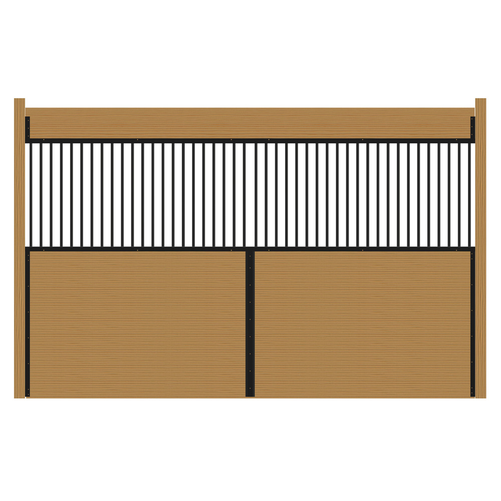 Welded Stall Grilled Partition Kit