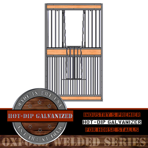 Oxford Welded Full Grill Stall V-Door