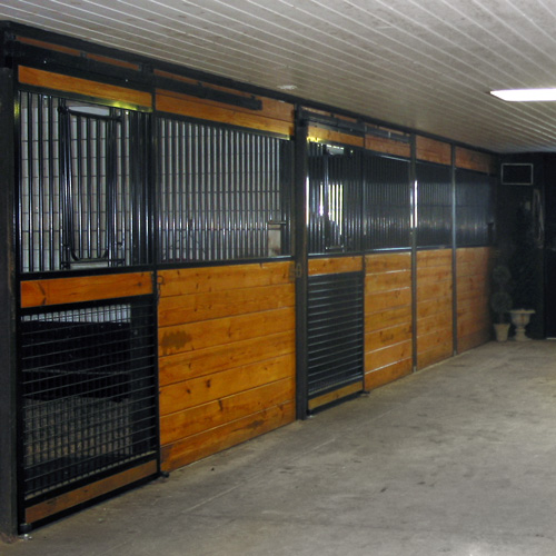Oxford V Door With Mesh Bottom Door Ramm Horse Fencing