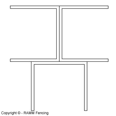 3-Way Corner Post Connector