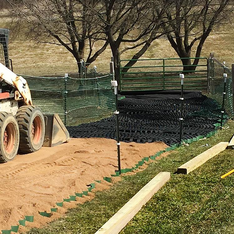 Lighthoof Mud Management Panel Ramm Horse Fencing Amp Stalls