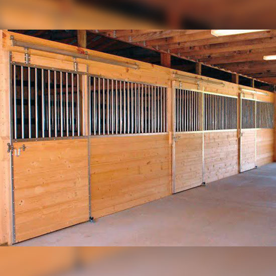 12 Derby Horse Stall Front Ramm Horse Fencing Amp Stalls